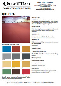 Industrial resin flooring North West