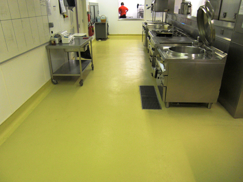 Hygienic flooring contractor North West